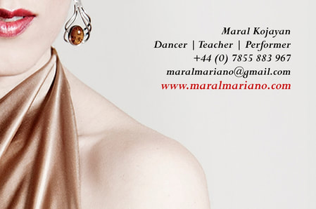 Maral Tango London Classes Shows Images